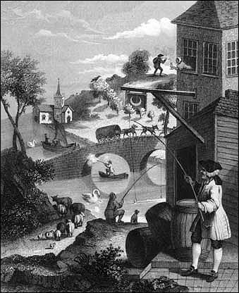 Hogarth lived 1697-1764 - amazing, huh?